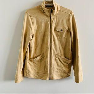 Ralph Lauren Beige Zip-Up Jacket
